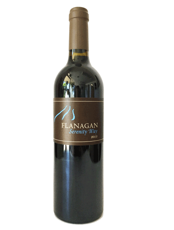 "Flanagan 2013 ""Serenity Way"" Red Blend Product Image"