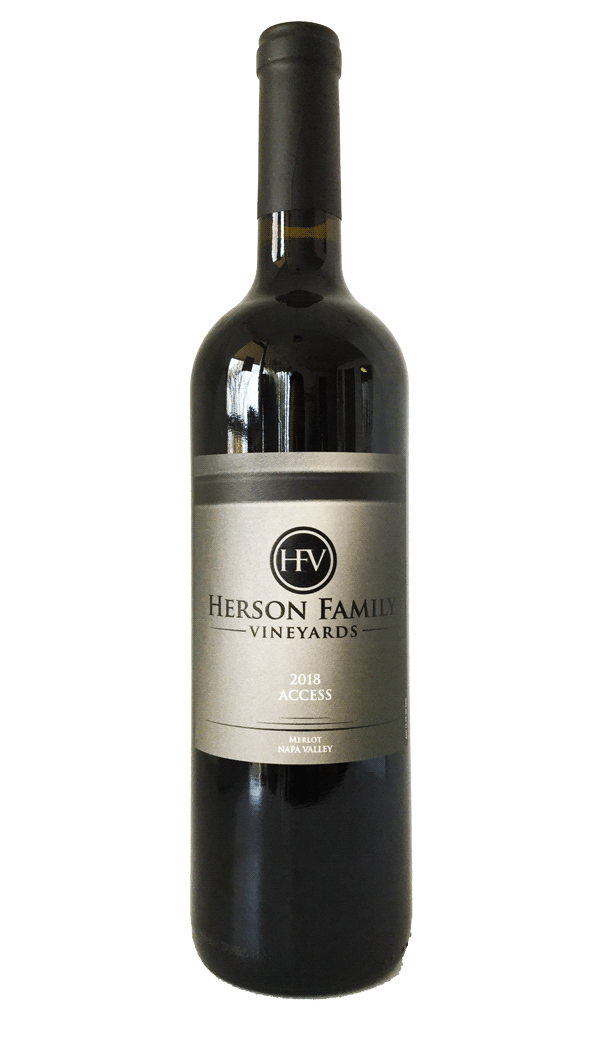 "Product Image for Herson Family Vineyards 2018 ""Access"" Merlot"