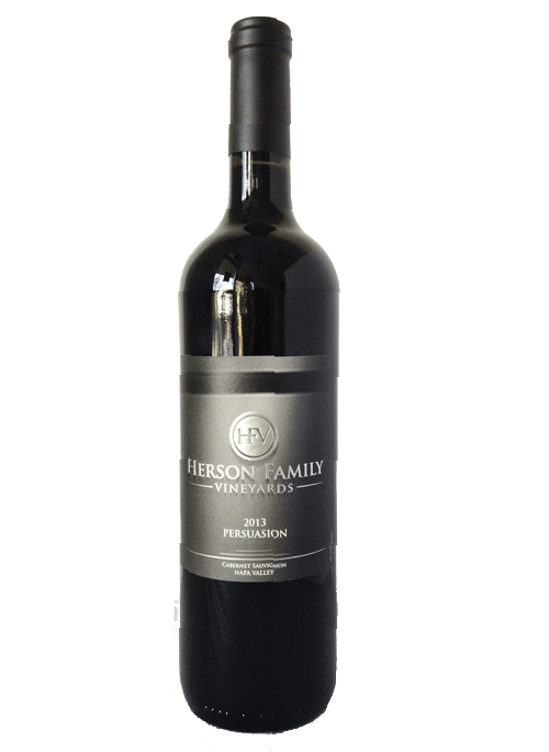 "Herson Family 2015 ""Persuasion"" Cabernet Sauvignon Product Image"