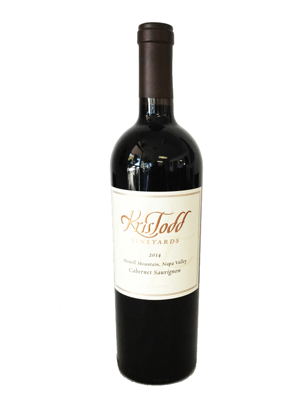 "KrisTodd 2014 ""Howell Mountain"" Cabernet Sauvignon Product Image"