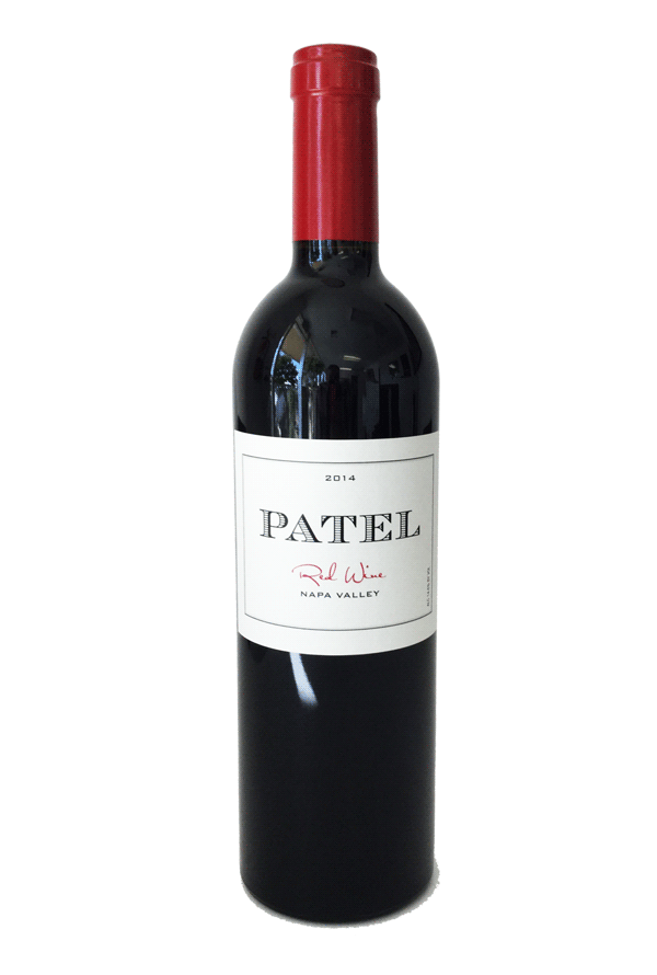 Patel 2014 Red Wine Product Image